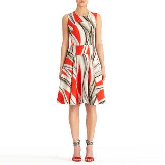 Rachel Roy Urban Flames Dress