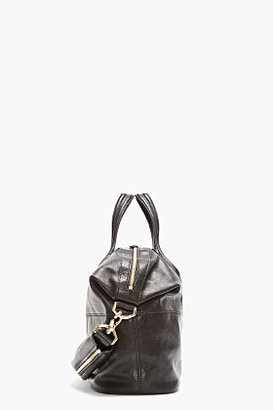 Givenchy Black Leather Medium Zanzi Nightingale Tote