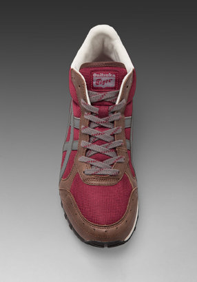 Onitsuka Tiger by Asics Colorado Eighty-Five MT in Maroon/Charcoal