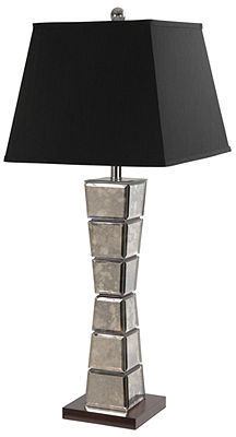 Crestview Table Lamp, Mirror Tower