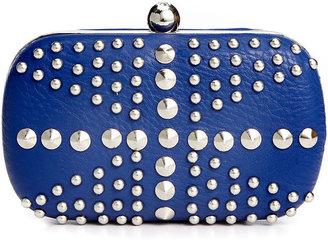Sasha Handbags Sasha Handbag, Studded Minaudiere Clutch