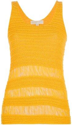 MICHAEL Michael Kors fringed knit tank top