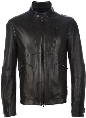 Ermenegildo Zegna dual zip bomber jacket