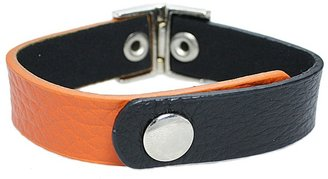 Style Tryst Two Tone Faux Leather Bracelet