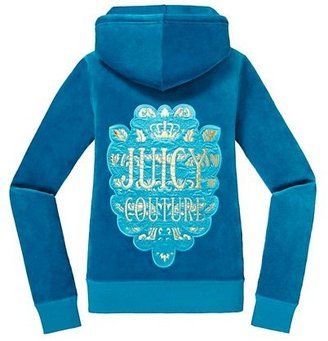 Juicy Couture Original Jacket in Foiled Leaf Velour