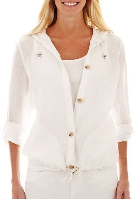 Liz Claiborne Linen Jacket