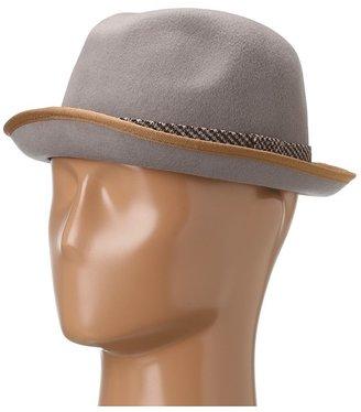 Michael Stars Pop Top Porkpie Fedora (Abalone) - Hats