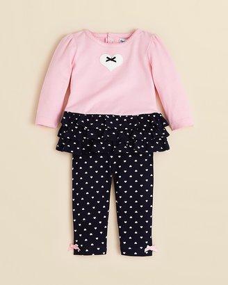 Hartstrings Infant Girls' Ruffled Top & Legging Set - Sizes 0-12 Months