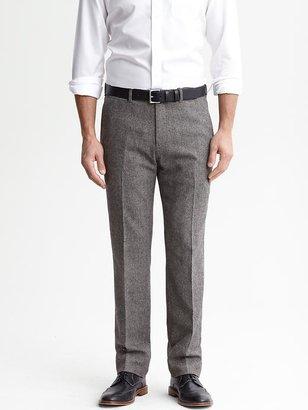 Banana Republic Vintage straight grey wool notch-waist trouser