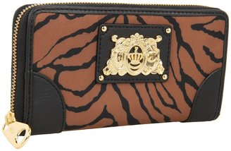 Juicy Couture Haute Hybrid Zip Wallet (Ginger Glaze Ziger) - Bags and Luggage