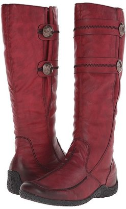 Rieker - 79970 Astrid 70 Women's Zip Boots $150 thestylecure.com
