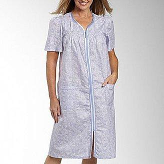JCPenney Robe, Celestial Dreams® Zip Duster