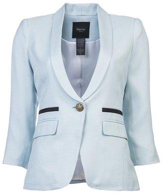 Smythe One button shawl blazer
