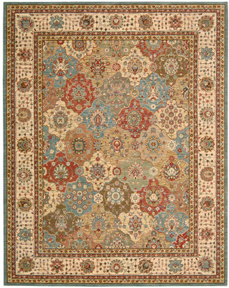"Nourison Area Rug, Created for Macy's, Persian Legacy PL01 Multi 2' 6"" x 8'"
