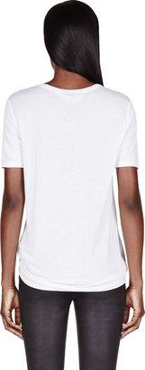 Alexander Wang White Classic Pocket T-Shirt