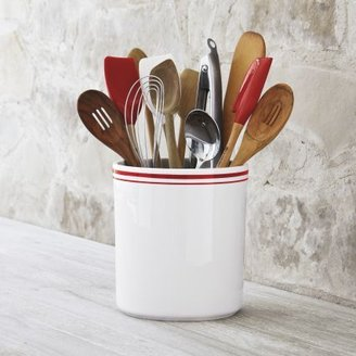 Sur La Table Sainte-Germaine Red Utensil Crock
