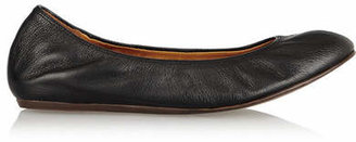 Lanvin - Leather Ballet Flats - Black $495 thestylecure.com