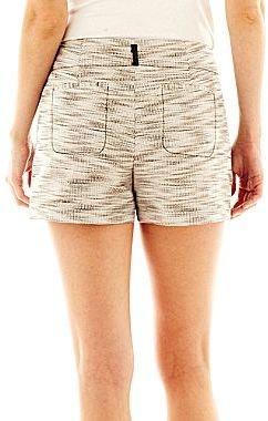 JCPenney I 'Heart' Ronson® Textured Shorts