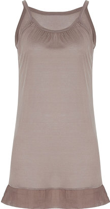 Lounge Lover Taupe Tank Dress