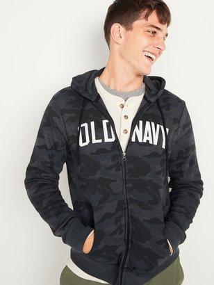 Old Navy Logo-Graphic Camo Zip Hoodie for Men