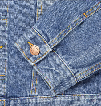 Nudie Jeans Perry Organic Washed-Denim Jacket