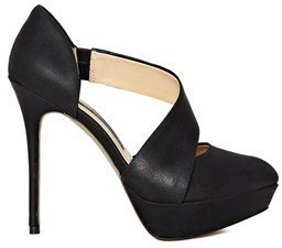French Connection Regina Leather Stiletto Heels