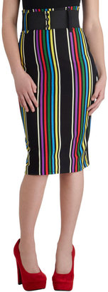 Cool Vibes Skirt in Stripes