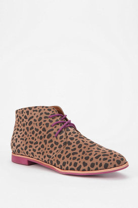 Dolce Vita Madge Leopard Lace-Up Ankle Boot