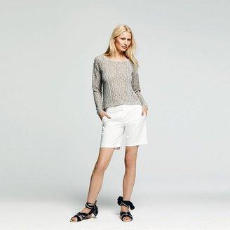 Peter Som for designation marled tape yarn sweater - women's