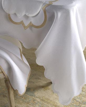 """Matouk Mirasol Oblong Tablecloth, 70"""" x 126"""""""