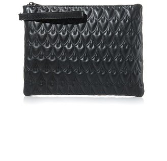 Hudson Reece Bowery leather pouchette