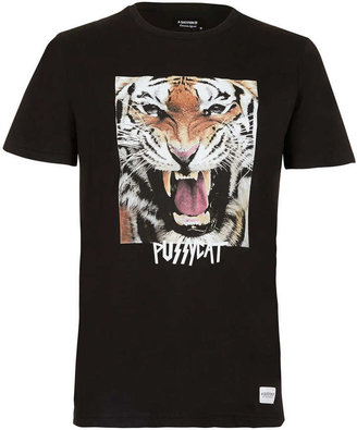Topman A Question Of 'Pussycat' T-shirt
