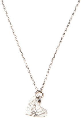 Lady J Jewelry Engraveable Heart Necklace