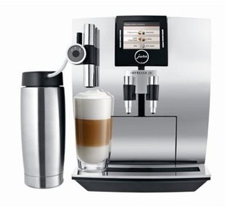 One Touch Jura-Capresso J9 TFT Automatic Coffee Center, Chrome