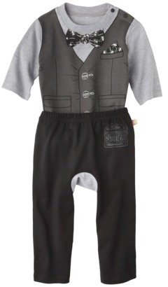 Harajuku Lovers Mini for Target® Infant Boys' Bow Tie Long-Sleeve Child Bodysuit and Pant Set