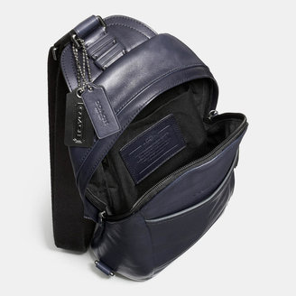 Coach Bleecker Convertible Sling Pack In Leather