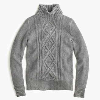 Cambridge cable turtleneck sweater $98 thestylecure.com