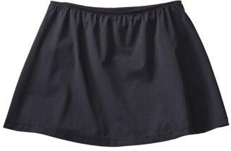 Sara Blakely ASSETS® by Women's Skirtini Swim Bottom - Black