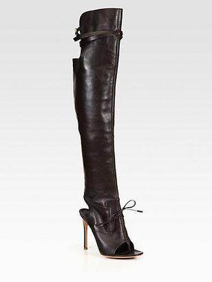 Altuzarra Leather Over-The-Knee Boots