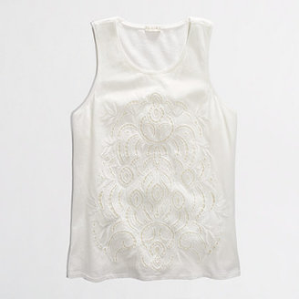 J.Crew Factory Factory lace-front tank
