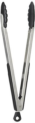 Crate & Barrel OXO ® Large Stainless and Nylon Tongs