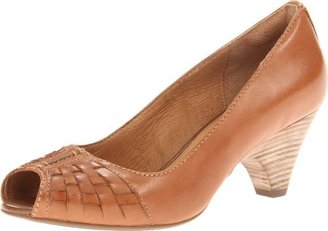 Clarks Women's Zaya Path Peep-Toe Pump