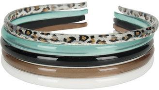 Full Tilt 5 Piece Skinny Headband Set