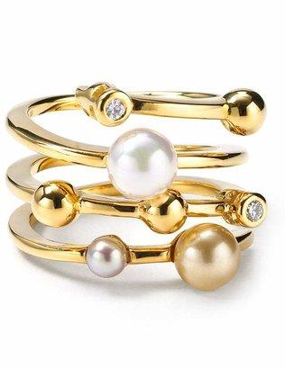 Majorica Endless Simulated Pearl Ring