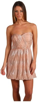 Twelfth St. By Cynthia Vincent by Cynthia Vincent - Corset Dress With Bubble Hem (Blush) - Apparel