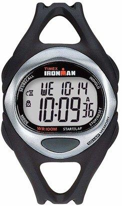Timex Unisex Black Ironman 50-Lap Watch w/ Indiglo