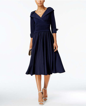 bea832a3e19 Jessica Howard Portrait-Collar A-Line Dress