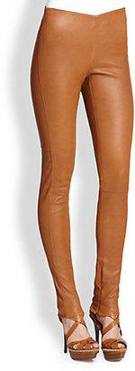Ralph Lauren Blue Label Leland Leather Pants