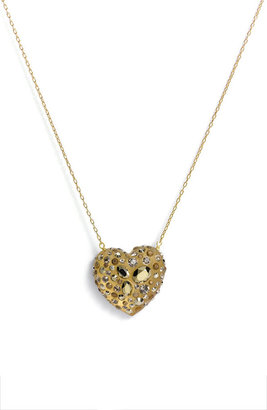 Alexis Bittar 'Gold Dust' Heart Pendant Necklace (Nordstrom Exclusive)