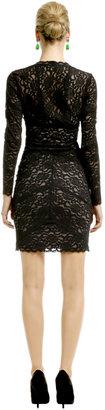 Nicole Miller Kate Lace V Dress